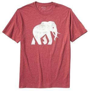 BANANA REPUBLIC Elephant Logo Graphic T-Shirt M